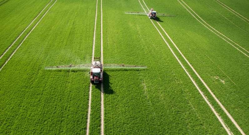 Bosch BASF Smart Spraying digitale Landwirtschaft