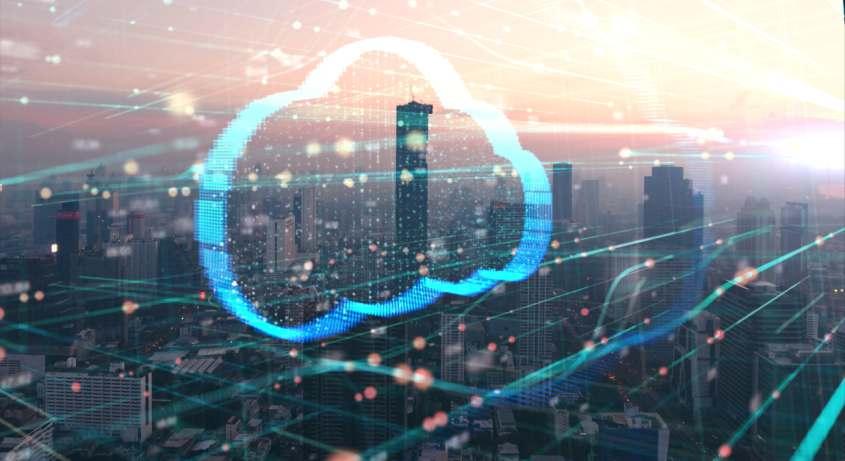Cloud-Monitor 2020: Drei von vier Unternehmen nutzen Cloud-Computing. Bild: ekaphon/Adobe Stock