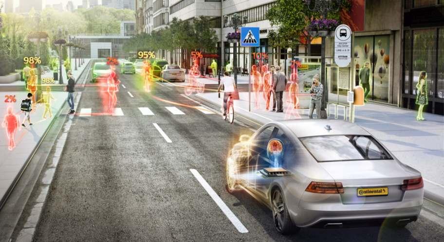 Proreta 5 Continental KI automatisiertes Fahren