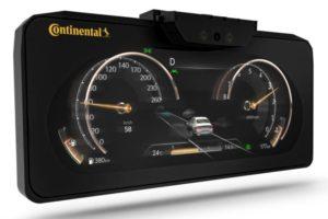 Continental bringt Seriendisplay mit autostereoskopischer 3D-Technologie auf den Markt.