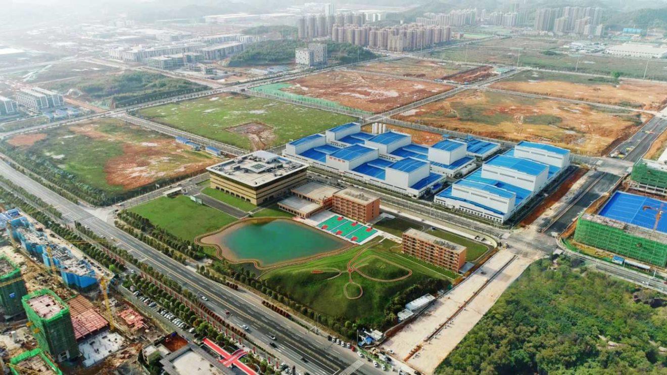 Shanshan Standort Da Changsha in Hunan, China.