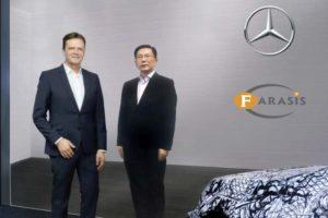 Daimler Farasis Partnerschaft Batteriezellen