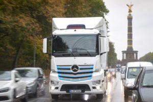 Mercedes-Benz eActros Siegessäule Berlin