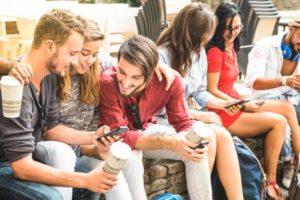 Generation Z Y und Millennials