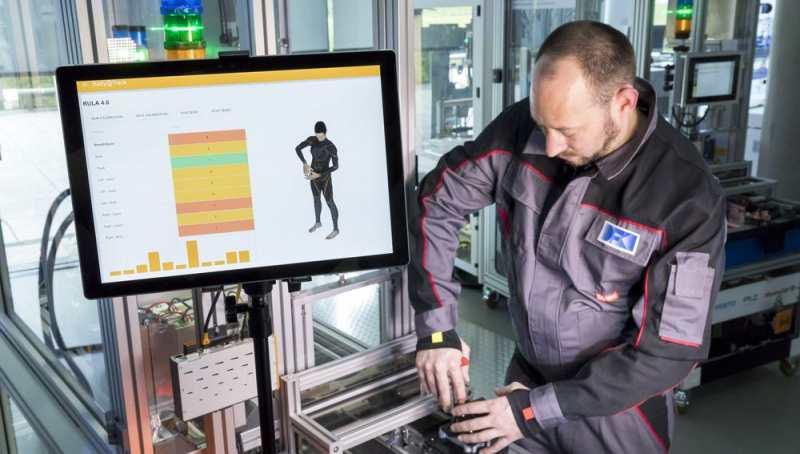 DFKI TUK Sensoren Körperhaltung