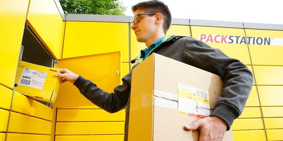 DHL Packstation Onlinehandel