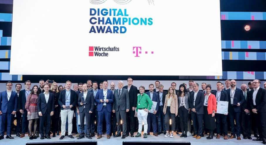 Digital Champions Award Digital X 2019