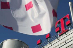 Telekom Logo Gebäude