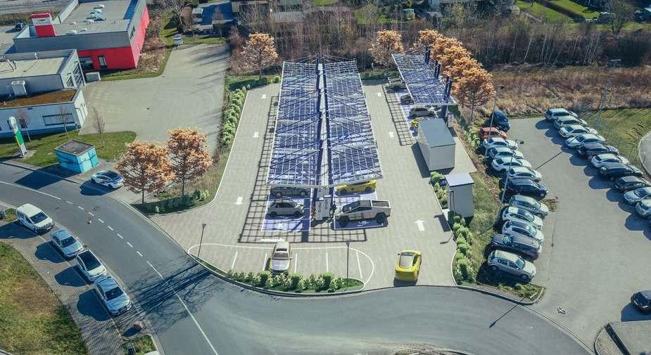 Die EnBW baut Europas größten Schnellladepark am Kamener Kreuz