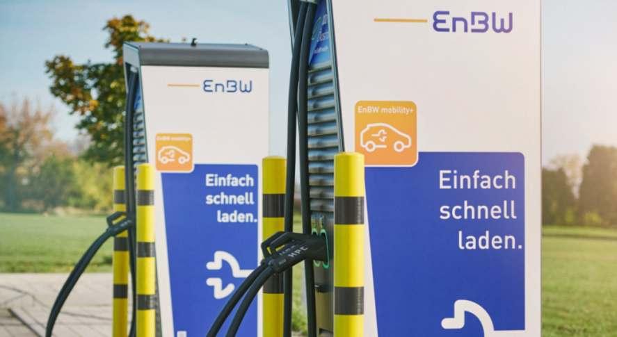 EnBW-Ladesäulen. Energieversorger EnBW bündelt E-Mobility-Aktivitäten in einer eigenen Gesellschaft. Bild: Endre Dulic