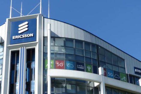 Die Ericsson-Firmenzentrale für den Markt Westeuropa in Düsseldorf.
