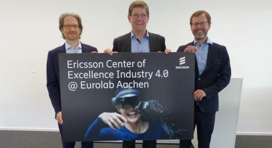 Olaf Reus, Jan-Peter Meyer-Kahlen, Joe Wilke Ericsson