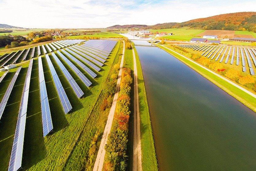 Erneuerbare Energien Photovoltaikanlage