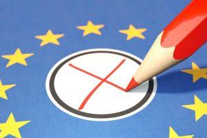 Kreuz bei der Europawahl 2019