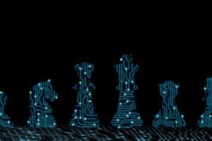 Digitalisierung Strategie Schachfiguren
