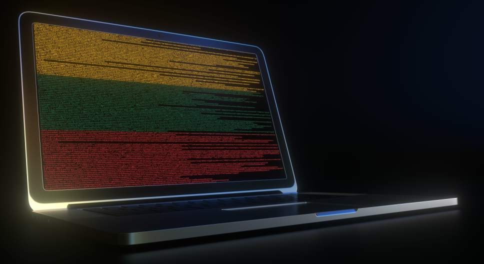 Flagge Litauen Code