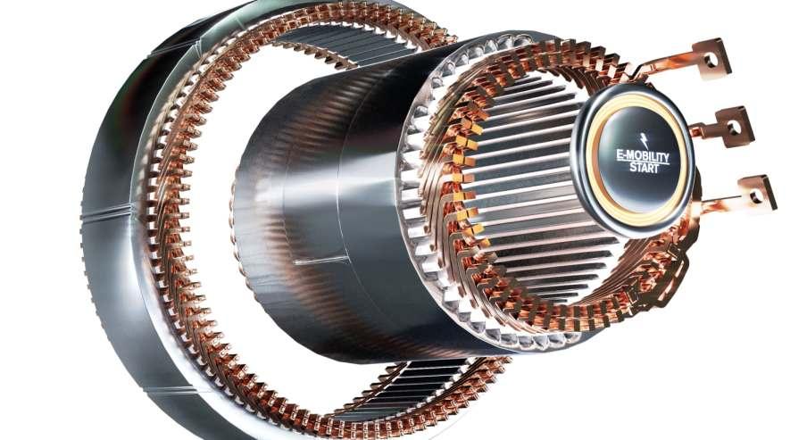 Statorprototypen mit kompakter Flachdraht-Wicklung sind mit neuer Fertigungstechnologie entstanden. Gehring