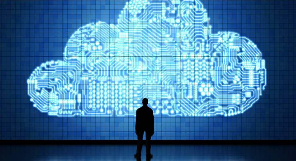 Industrial Cloud Volkswagen stilisiertes Cloud-Computing phonlamaiphoto Adobe Stock