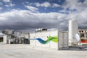 Demonstrationsanlage für synthetisches Erdgas in Troia, Italien