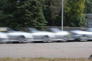 Auto auf dem Mobilitätscampus