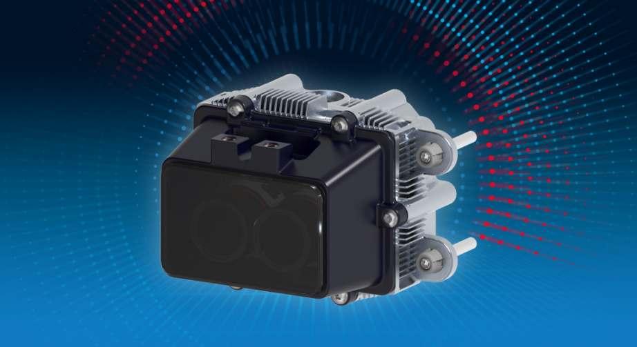 Der Solid-State-LiDAR ibeoNEXT wird von ZF produziert und ab Oktober ausgeliefert. Bild: Ibeo