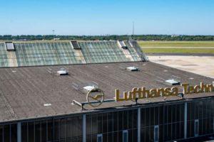 Lufthansa Technik Gebäude Düsseldorf