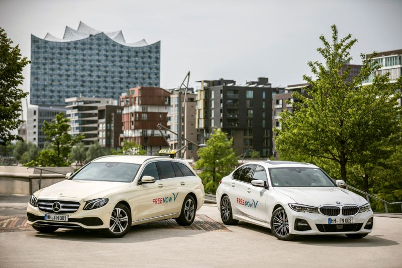 Mercedes-Benz BMW Free Now