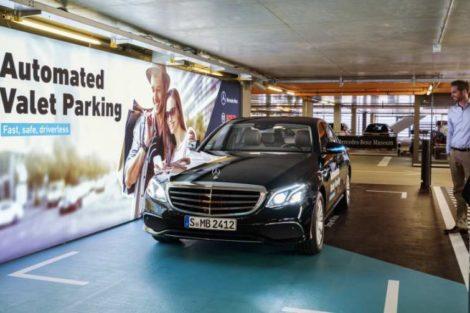 Mercedes Bosch Automatisiertes Parken