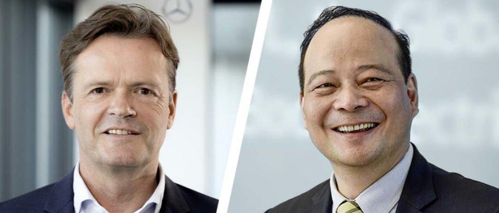 Markus Schäfer, Robin Zeng, Daimler CATL Batterien