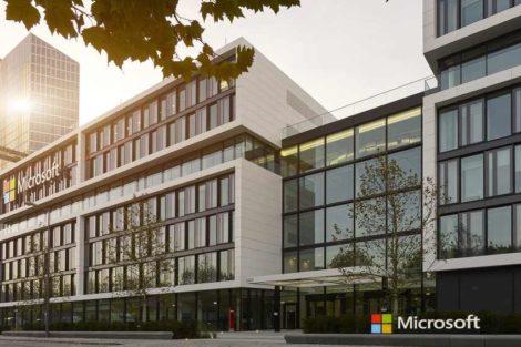 Microsoft Zentrale Schwabing