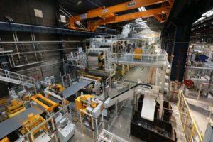 Aluminiumfabrik in Neuf-Brisach (Frankreich). Alumobility bietet nachhaltige Aluminiumprodukte an.