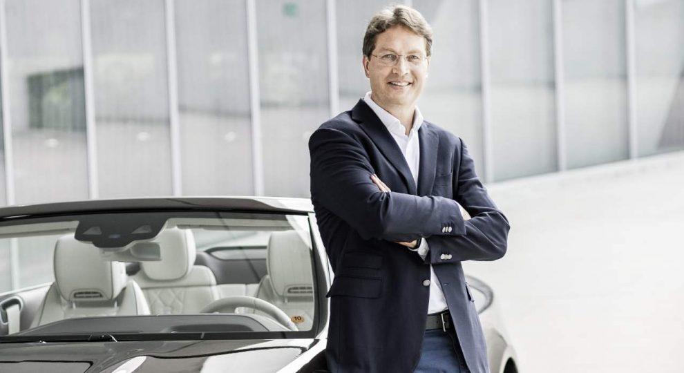 Ola Källenius Daimler AG Mercedes Benz AG