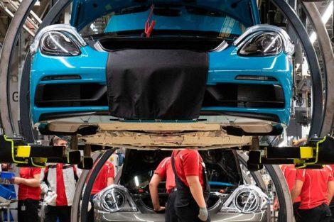 Porsche Fertigung IT-Störung