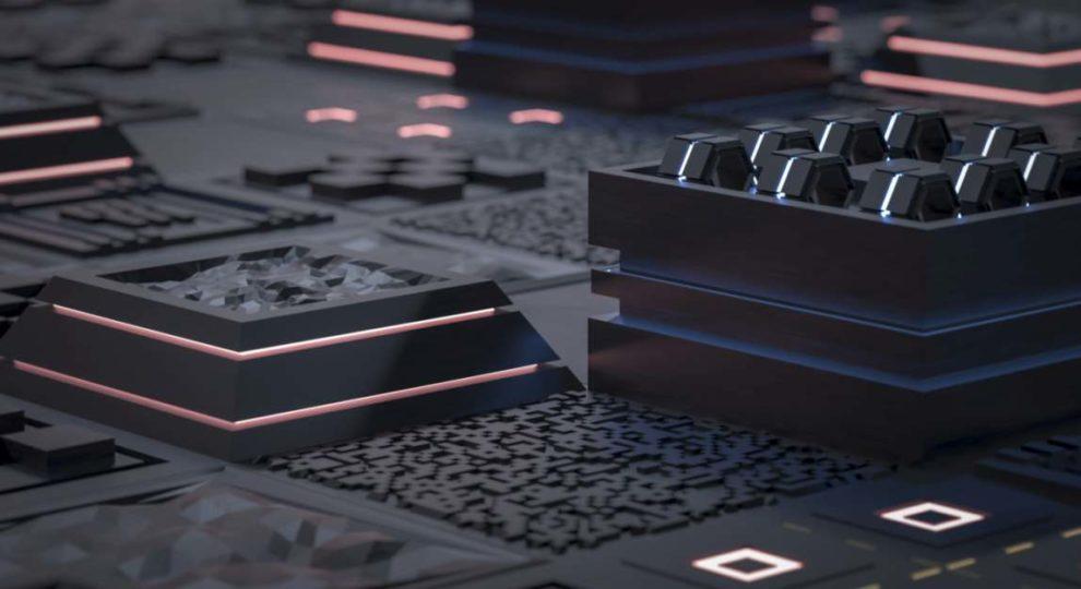 Quantencomputer Illustration Ilya Nikolaevic Adobe Stock
