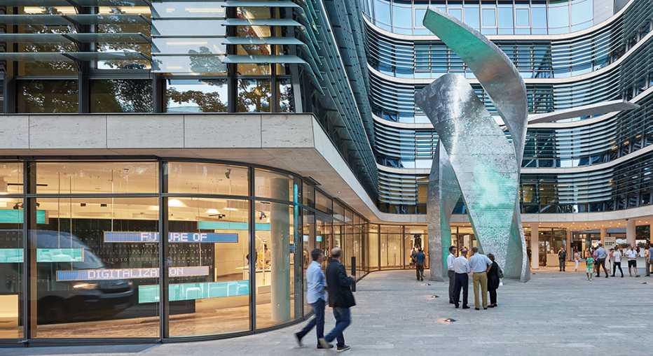 Siemens-Hauptquartier in München