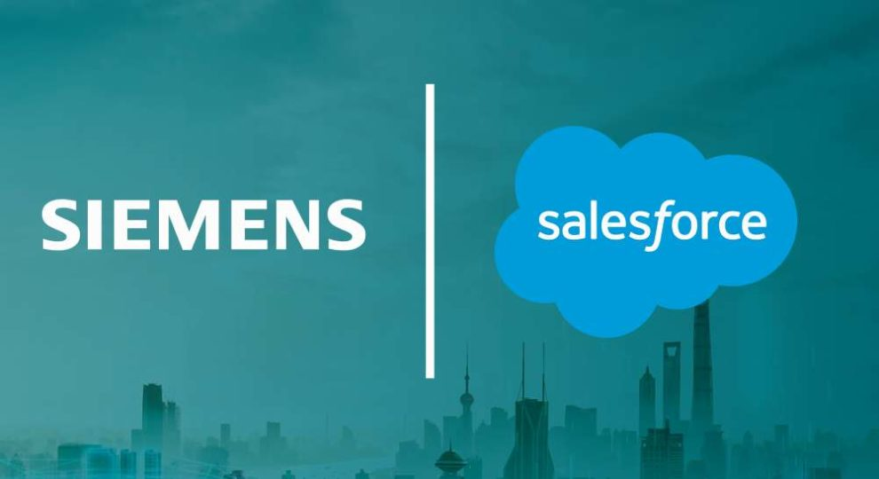 Siemens und Salesforce haben einen Kooperation bekannt gegeben. Bild: Siemens
