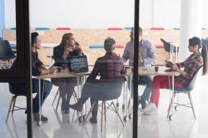 Startup junge Menschen