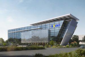 Das Svolt-Gebäude, das in Überherrn (Saarland) entstehen soll