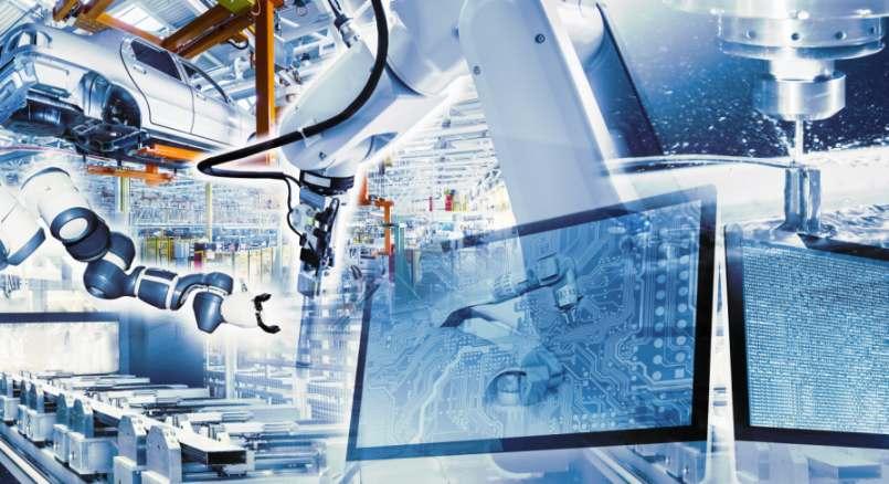Digitalisierung im Maschinen- und Anlagenbau. Die Branche steht der Digitalisierung am aufgeschlossensten gegenüber.