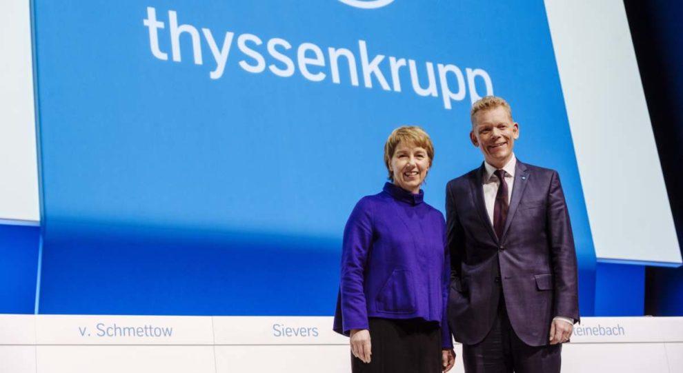Thyssenkrupp Martina Merz Guido Kerkhoff