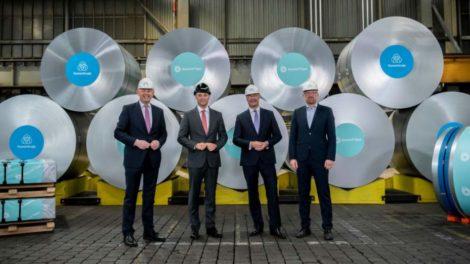 Christoph Dammermann, Franz Kaldewei, Berhard Osburg, Sören Link Bluemint Steel