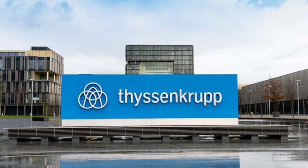 Thyssenkrupp Zentrale in Essen. Konzern beschließt Schließung des Standorts Olpe