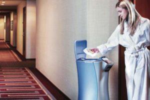 Thyssenkrupp Elevator Roboter Kommunikation
