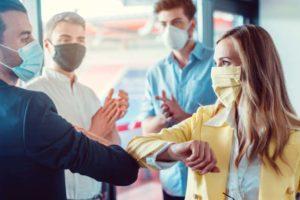 Corona Abstandsregeln KMU Krise Wie geht es weiter?