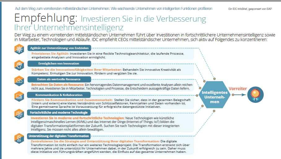 Unternehmensintelligenz IDC SAP