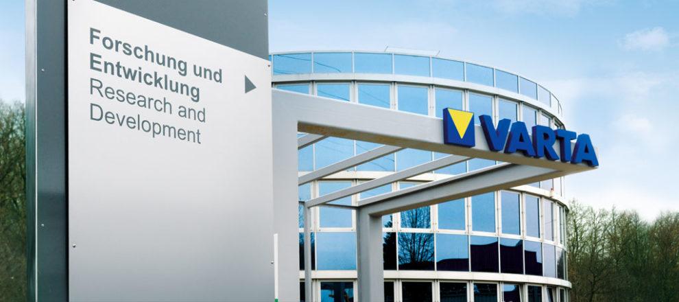 Varta AG Forschung und Entwicklung