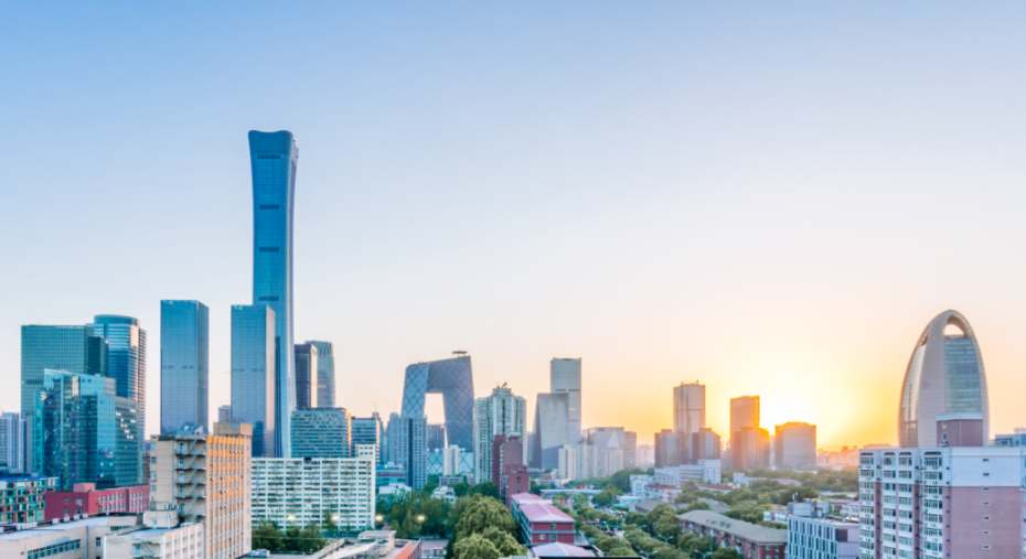 Corona-Pandemie Maschinenbau Pekinger Skyline China Govan Adobe Stock