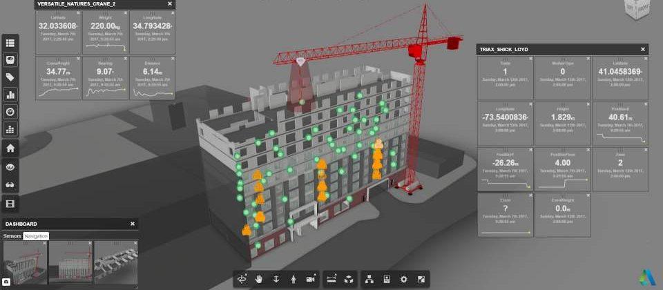Versatile Nature Baustellenvisualisierung