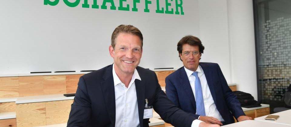 SAP Schaeffler Dr. Daniel Holz Klaus Rosenfeld