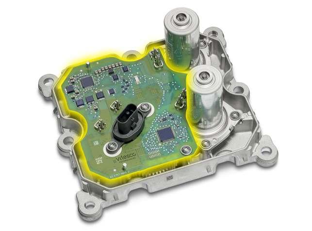 Zwei Elektromotoren mit 100 Watt Leistung sorgen im Aktuatormodell von Vitesco für die Gangwechsel. Bild: Continental
